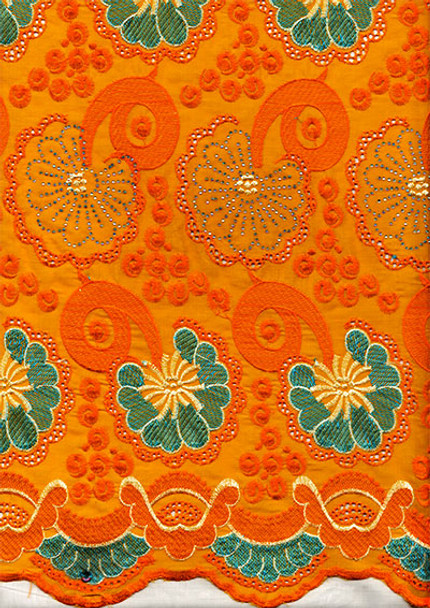 Voile Lace 191 (Orange)