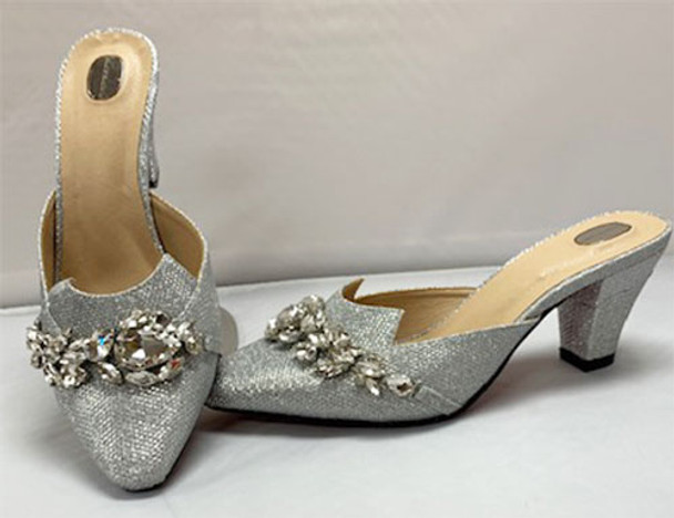 Grand Diamond Shoes #3 (Silver)