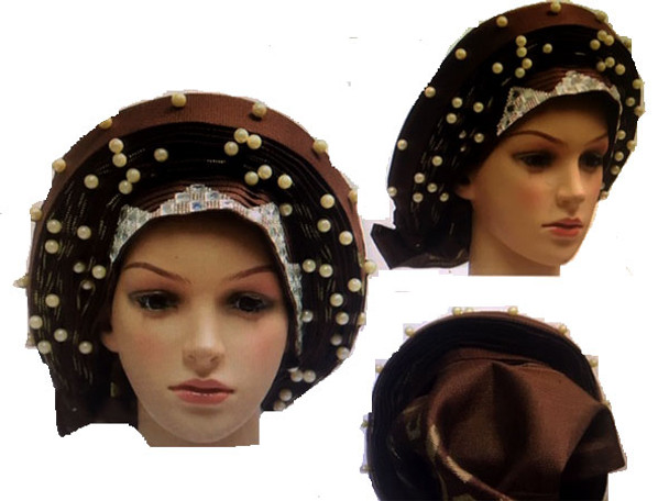 Auto Gele # 24 (Brown)