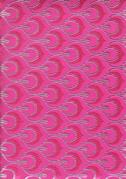 2pcs Sego Headtie # 14 (Hot Pink/Silver)