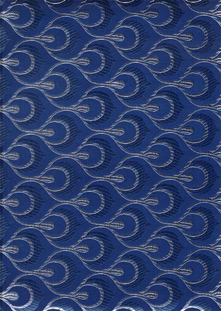 2pcs Sego Headtie # 15 (Navy Blue/Silver)