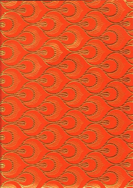 2pcs Sego Headtie # 19 (Orange/Gold)