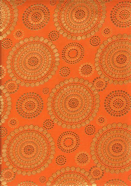 2pcs Sego Headtie # 7 (Orange/Gold)