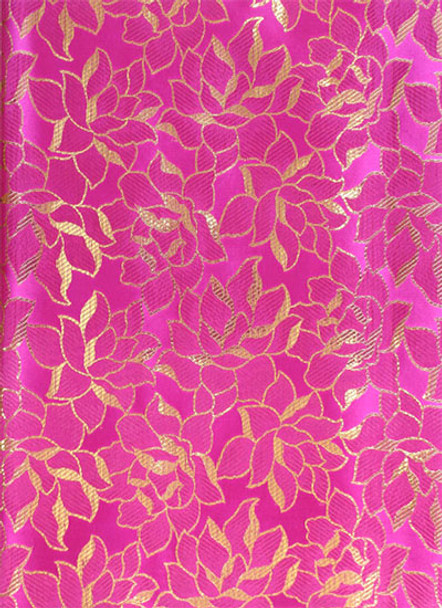 2pcs Sego Headtie # 56 (Hot Pink/Gold)