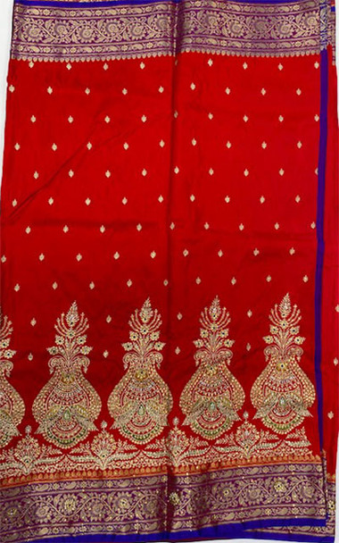 Saree George 8 (Red)
