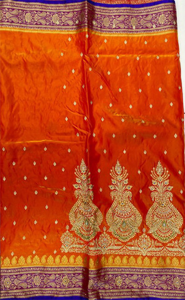 Saree George 13 (Orange)