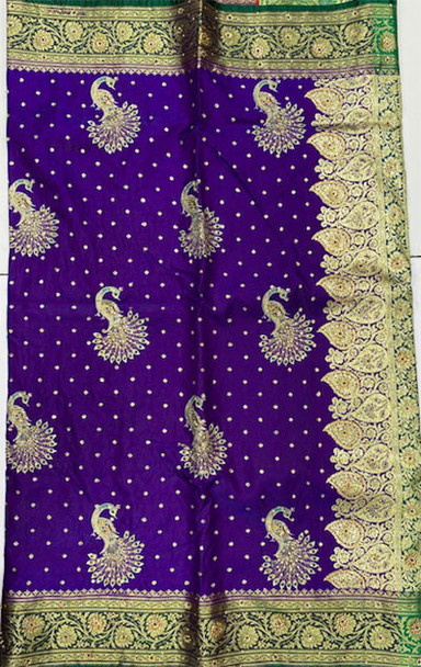 Saree George 21 (Purple/Green)