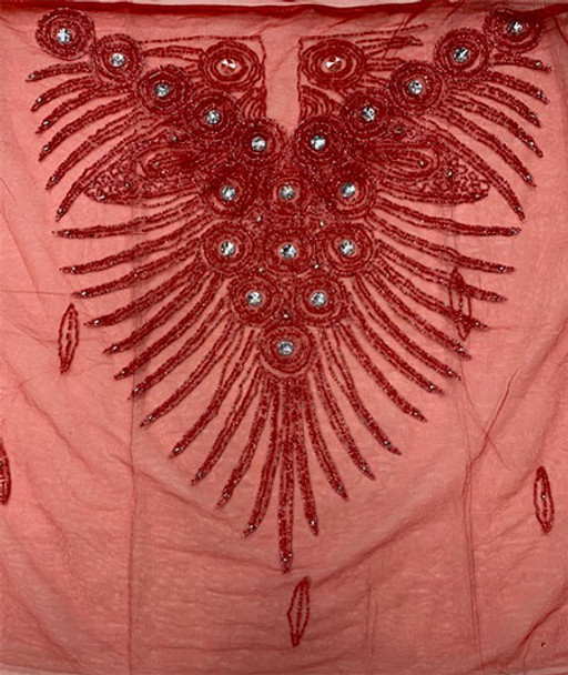 Blouse Piece # 25 (Red)