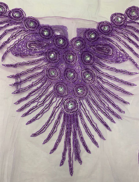 Blouse Piece # 30 (Lilac)