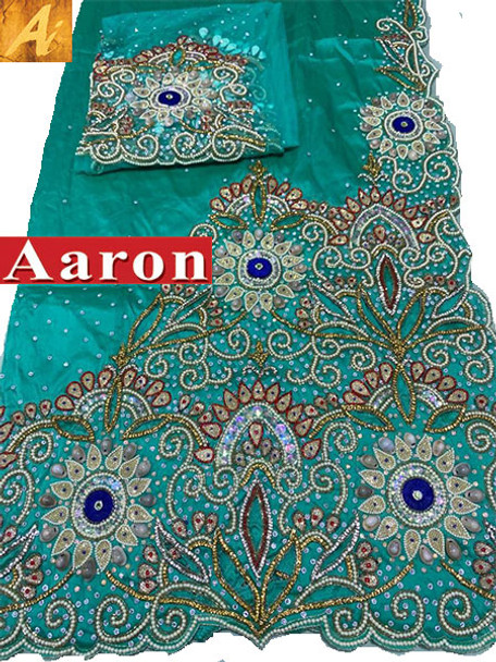 First Lady Wrapper 94 (Mint Green) with Blouse Piece
