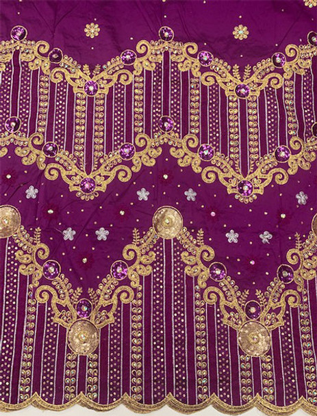 2pc Wrapper # 9 (Magenta) with  Blouse Piece