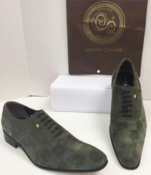 Men's Shoes A35 (Green) Sz:46