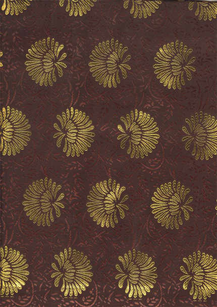 2pcs Sego Headtie 214 (Brown/Gold)