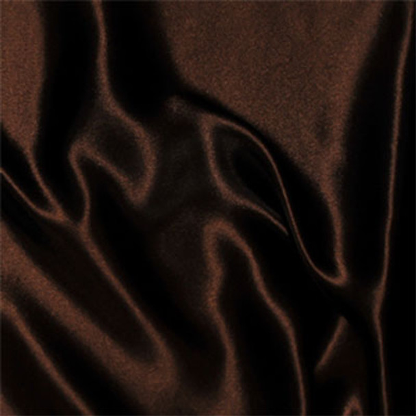 Brown Satin Fabric