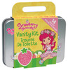 Contains 4 cotton pads, 2 facial cleansing wipes, 6 cotton swabs, nail file, and collectible tin case