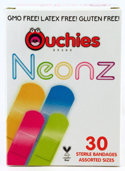 Ouchies Neonz bandages