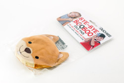Ouchies Reusable Plush Ice Pack, Cold Pack - Chipmunk