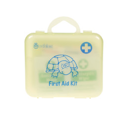 Ouchies 18 pc Kid's Glow in the Dark First Aid Kit - Sea Friendz