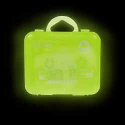 Ouchies 18 pc Kid's Glow in the Dark First Aid Kit - Sportz