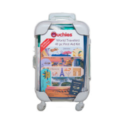 Ouchies World Travelerz 41 pc First Aid Kit