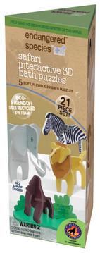 Eco Bath Puzzle- Safari