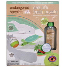 Bath Puzzle Set- Sea Life
