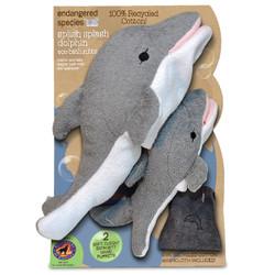 ES Splish Splash Dolphin eco-bath mitts