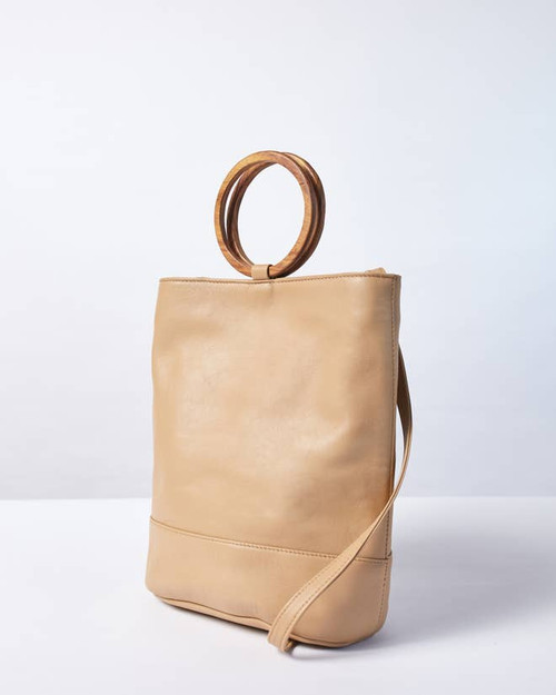 Wood Bucket Tote—Payton James