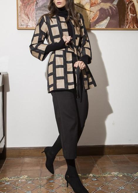 Carla Grid Coat