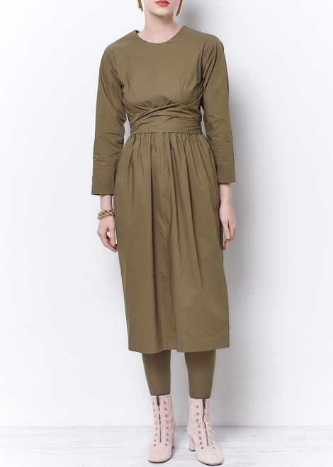 Sandra Raglan Tie Dress