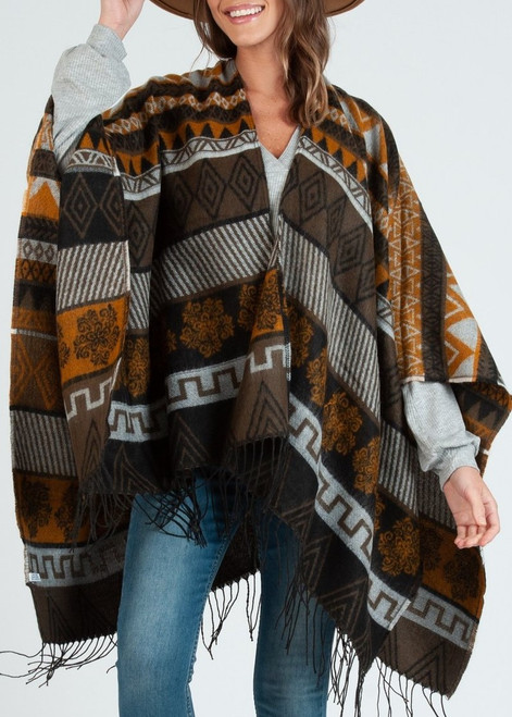 Black Diamond Poncho