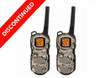 Discontinued 2 Pack Motorola Talkabout MS355R Two Way Radios with Dual Charger, Rechargeable Batteries and Headsets