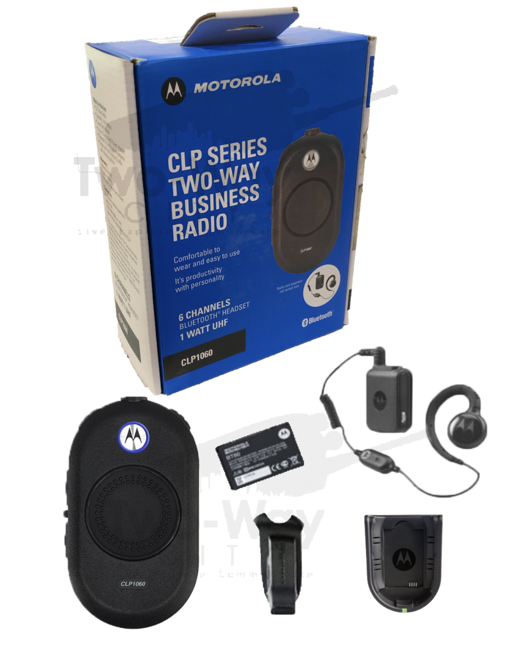 Motorola Clp1060 Uhf Two Way Radio Twowaycity Com