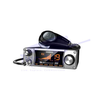 Uniden Bearcat 680 CB Radio with Ergonomic Mic