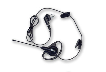 Motorola 56518 D-Ring Earpiece with Boom Mic