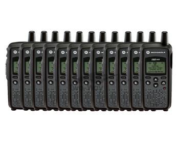 Motorola DTR410 Digital Two Way Radio 12-Pack