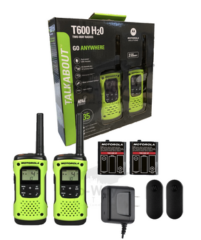 Motorola T600 Two-Way Radios 2-Pack