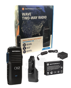 WAVE™ TLK 100 Two Way Radio and Accessories
