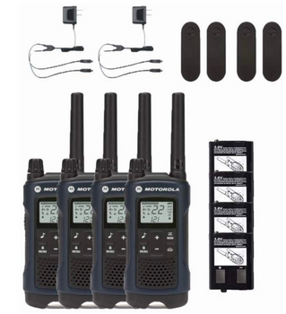 Motorola T460 Two-Way Radio 4-Pack