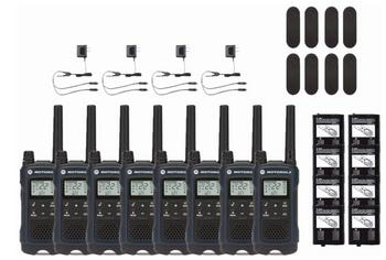 Motorola T460 Two-Way Radio 8-Pack
