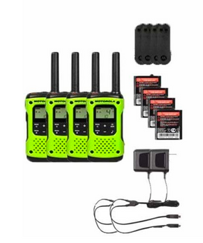 Motorola T600 Two-Way Radio 4-Pack
