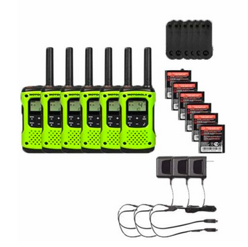 Motorola T600 Two-Way Radio 6-Pack