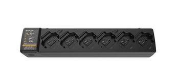 Motorola PMPN4465 DTR Series 6-Unit Charging/Cloning Station