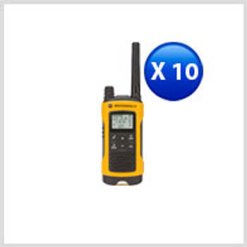 Motorola Talkabout T402 Two-Way Radio  10-Pack