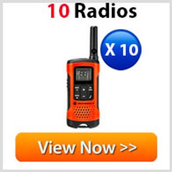 Motorola T265 Two Way Radio 10 Pack
