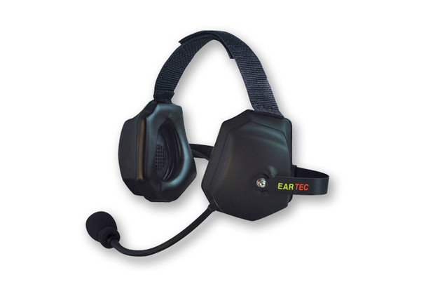 Eartek Double Muff Headset for Hard Hat Use