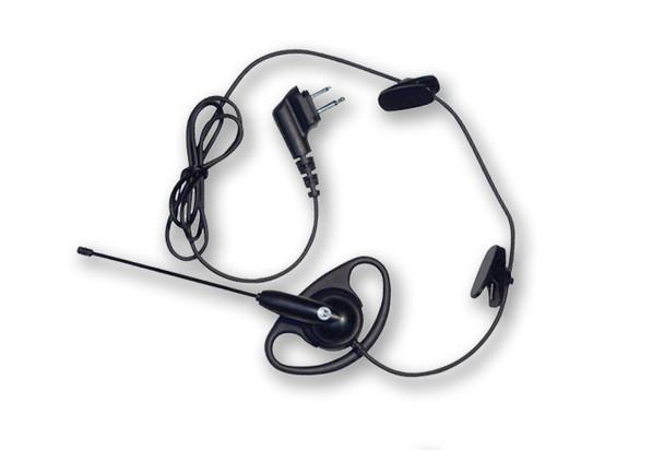 Motorola 56518 D-Ring Earpiece with Boom Mic