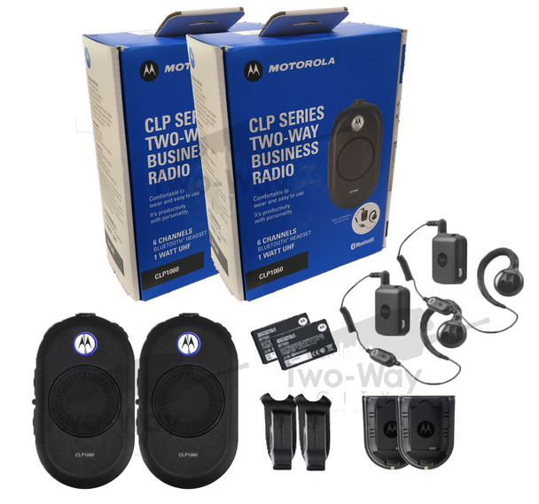 Motorola CLP1060 Two Way Radio 2-Pack