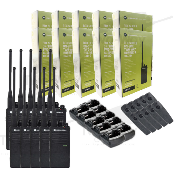 Motorola RDU4100 Two Way Radio 10-Pack