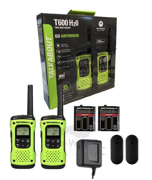 Motorola T600 Two-Way Radios 2-Pack